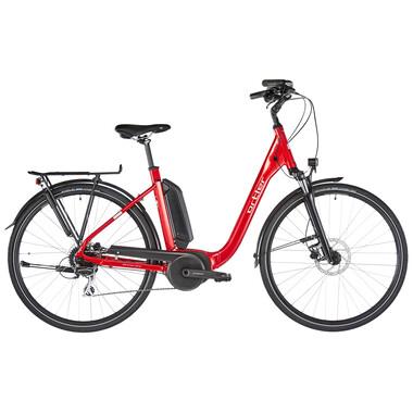 Vélo de Ville Électrique ORTLER BERGEN 300 WAVE Rouge 2020